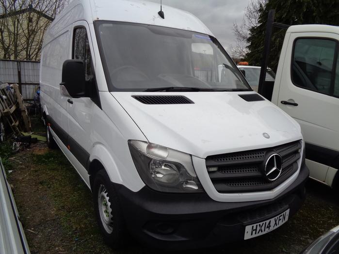 Mercedes Sprinter 2.1 TD, 313 CDI, LWB Van, White, 2014, 14 reg,