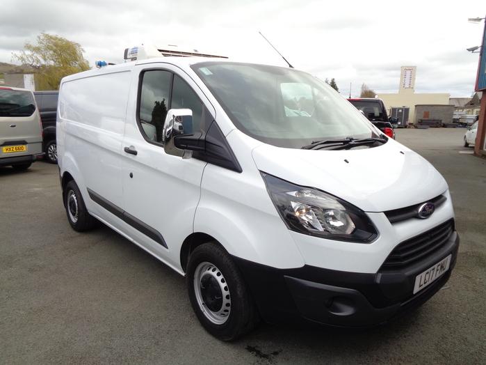 Ford Transit Custom 290 Twin compartment Fridge Van, White, 2017, 17 reg,