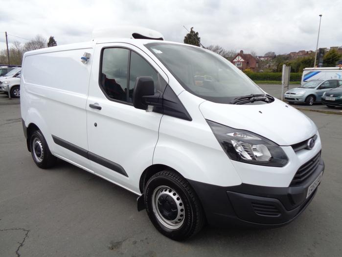 Ford Transit Custom Fridge Van L1, White, 2015, 65 reg,