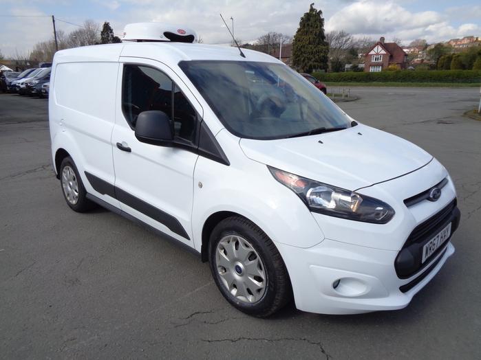 Ford Transit Connect 220 L1, 1.5 TDCI Trend Fridge Van, White, 2017, 67 reg,
