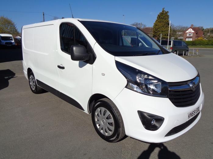 Vauxhall Vivaro L1, 2700, 1.6 CDTI, 125PS Sportive Van, White, 2019, 69 reg,