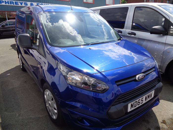 Ford Transit Connect Trend Van, Blue, 2016, 65 reg,