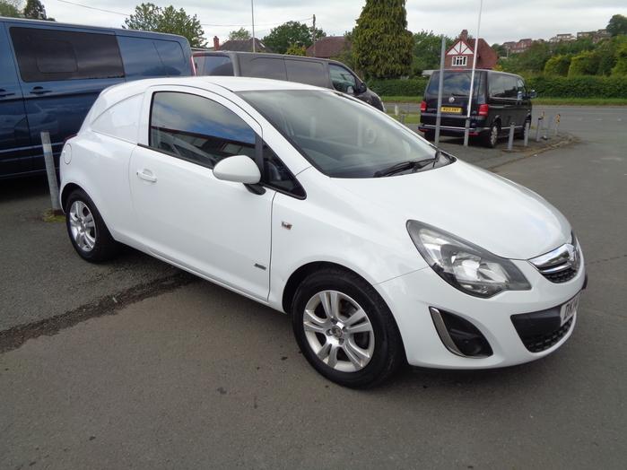 Vauxhall Corsa 1.3 CDTI Sportive Van, White, 2014, 14 reg,