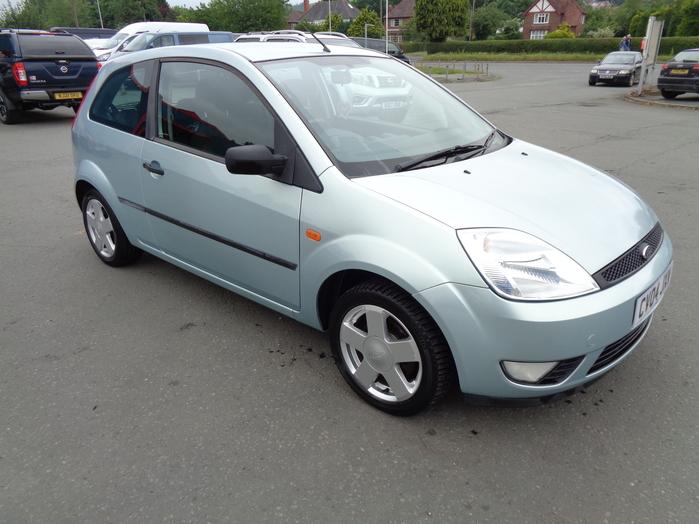 Ford Fiesta 1.4 Petrol Zetec, 3 Door, Green, 2004, 04 reg,