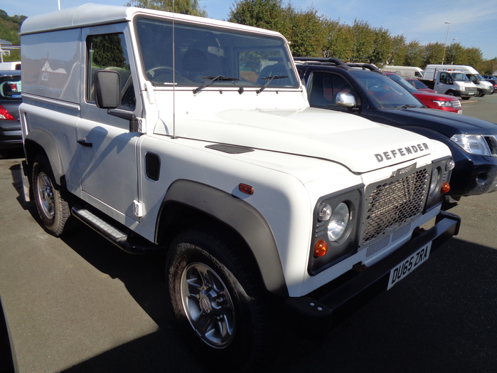 Land Rover 90 Defender Hard Top, White, 2015, 65 reg,