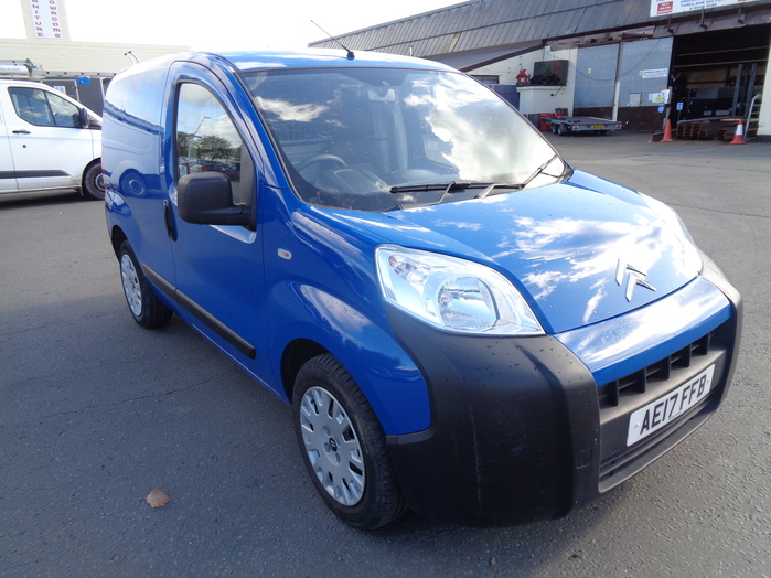 Citroen Nemo Enterprise 1.3 HDI, 80PS Van, Blue, 2017, 17 reg,