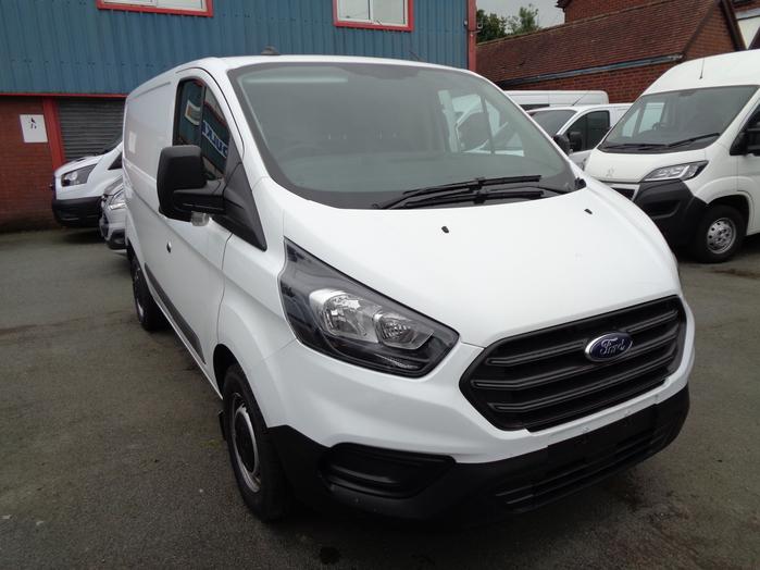 Ford Transit Custom Leader 300, L1, 105PS Van, White, 2020, 70 reg