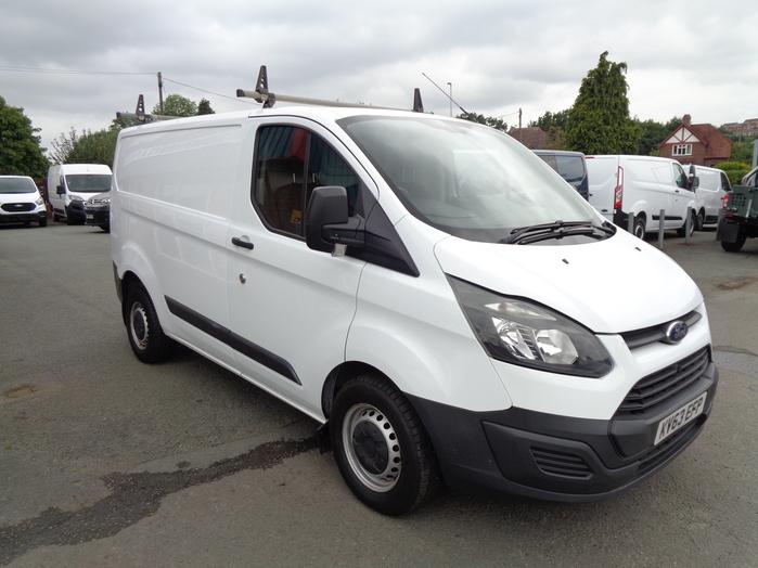 Ford Transit Custom 290 L1 Van,  100PS, White, 2013, 63 reg,