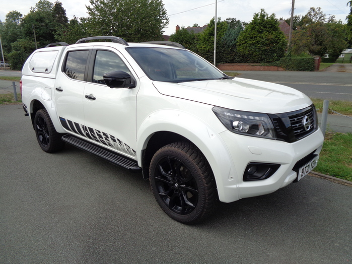 Nissan Navara N Guard Automatic Double cab Pickup, White with Gullwing canopy, 20