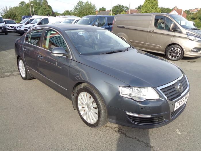 Volkswagen Passat 2.0 TDI, CR,170PS, DSG Auto, Highline, 4 door, Grey, 2009, 59 reg,