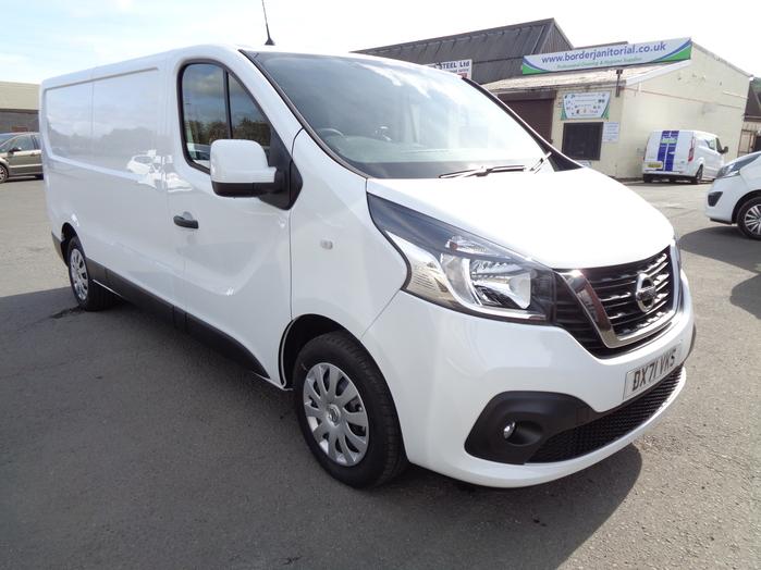 Nissan NV300 L2 H1, Acenta 30, 2.0 DCI, 120PS Van, White, 2021, 71 reg