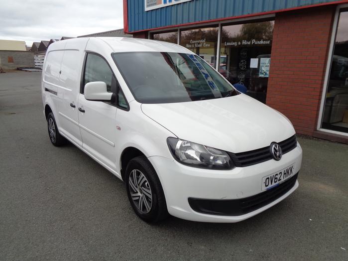 Volkswagen Caddy Maxi C20, 1.6 TDI, 102PS Van, White, 2012, 62 reg,