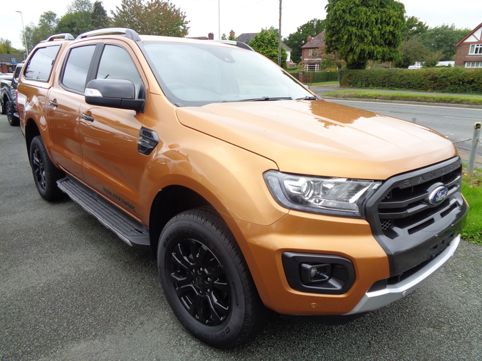 Ford Ranger Wildtrak 2.0 TDCI, Automatic Double cab Pickup, Yellow, 2020,