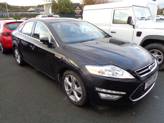 Ford Mondeo 2.0 TDCI Titanium, 5 door, Black, 2013, 13 reg,
