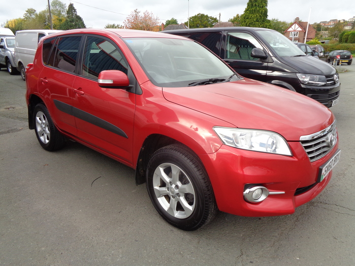 Toyota Rav 4 XTR, 2.2 D4D, 5 Door, Red, 2010, 60 reg,