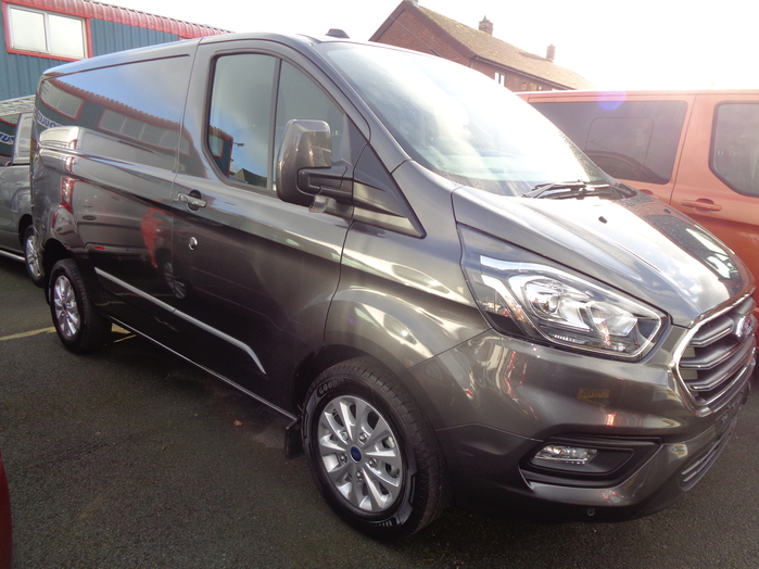Ford Transit Custom 280 L1 Limited Van, Magnetic, 2020, 20 reg,