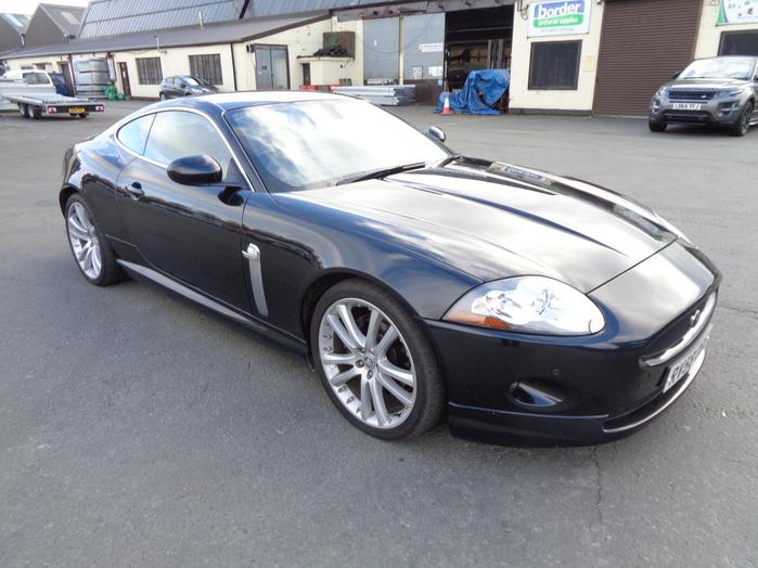 Jaguar XK 4.2 Auto Coupe, Black, 2008, 58 reg,