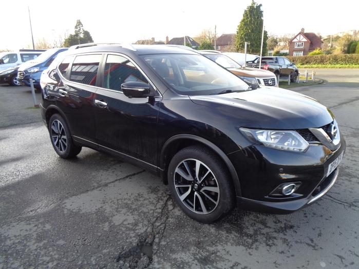Nissan X Trail  N Tec, 1.6 DCI, 130PS, 4X4, 7 Seat, Black, 2015, 15 reg.